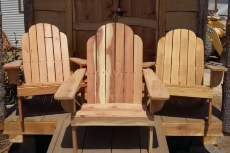 Genial Cypress, Redwwod And Pine Adirondack Chairs